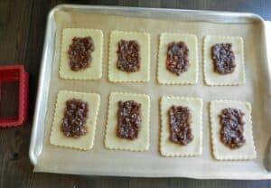 Blonde Fatale Pop Tarts Filling cookingwithcurls.com
