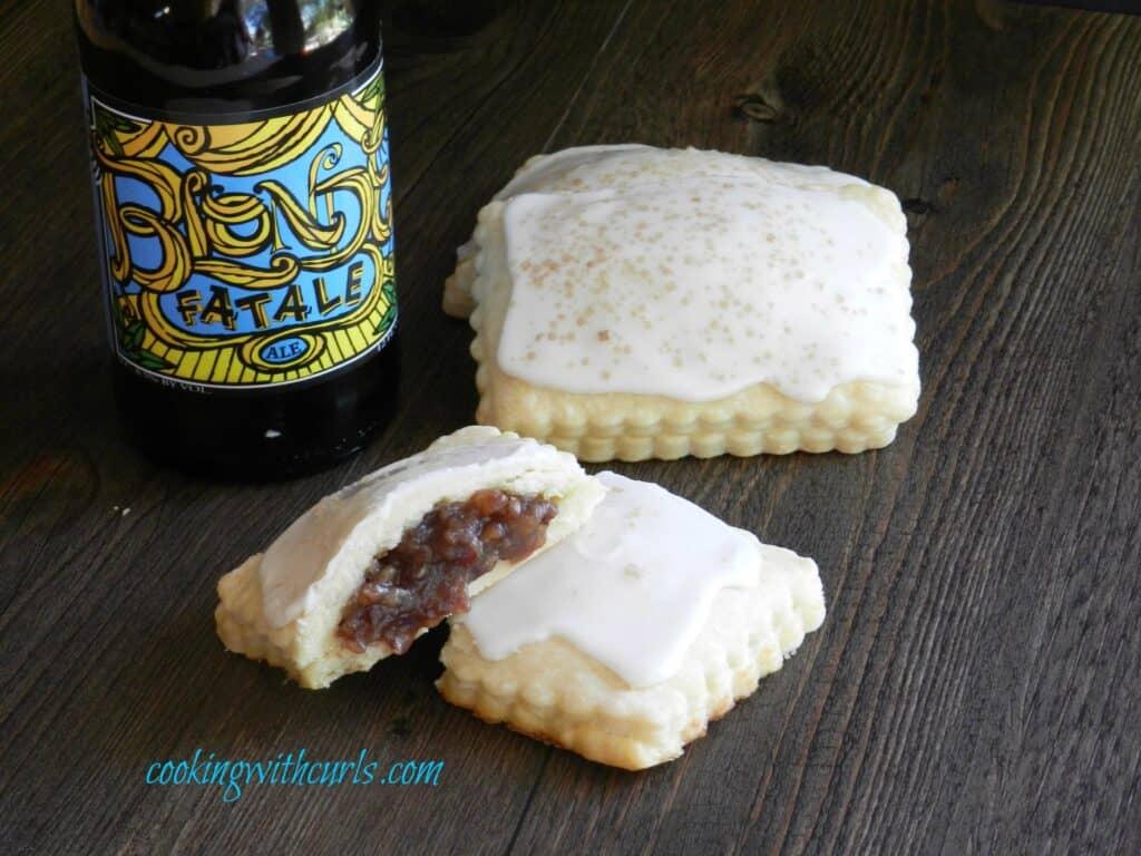 Blonde Fatale Pop Tarts Beer cookingwithcurls.com