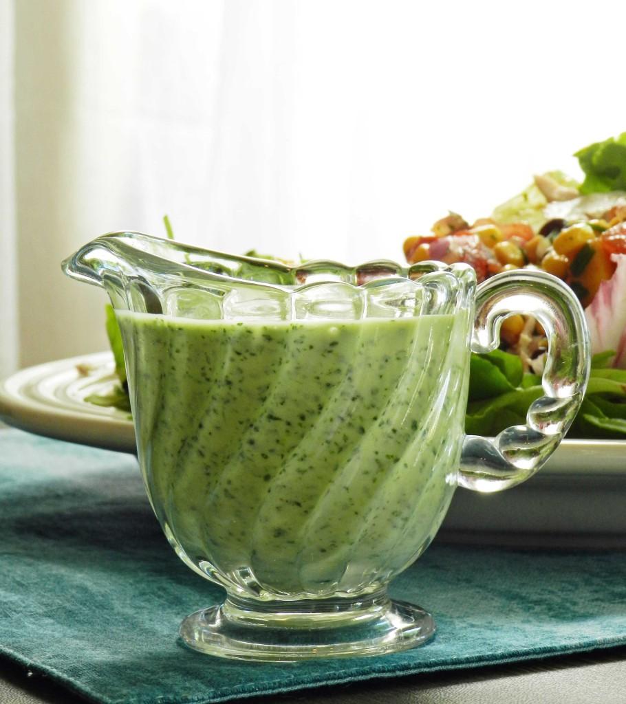 Creamy Cilantro Lime Dressing cookingwithcurls.com