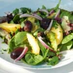 Greek Orange and Olive Salad & cooking with astrology
