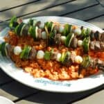 Lamb and Vegetable Kabobs & cooking with astrology
