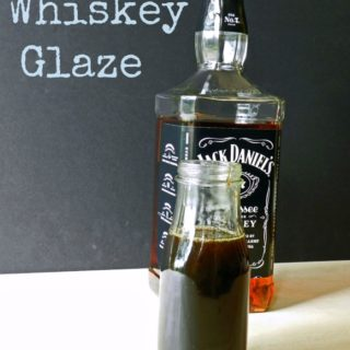 This Whiskey Glaze is thick, tangy, and insanely delicious! cookingwithcurls.com