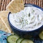 Cucumber and Yogurt Dip {Tzatziki} & cooking with astrology