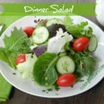 Dinner Salad & cooking with astrology
