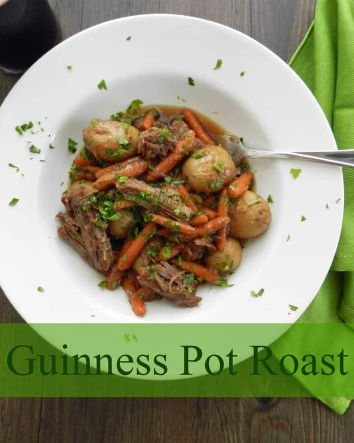 Guinness Pot Roast Cooking with Astrology Virgo cookingwithcurls.com