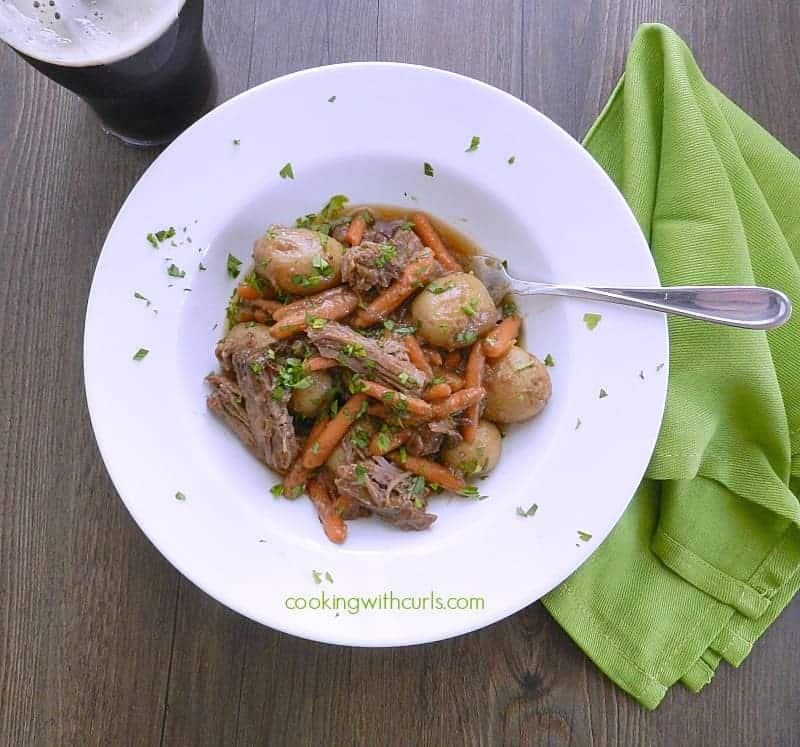 Guinness Pot Roast cookingwithcurls.com
