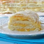 Peaches and Cream Napoleons & dessert challenge