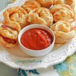 Pepperoni Pizza Muffins & guest post