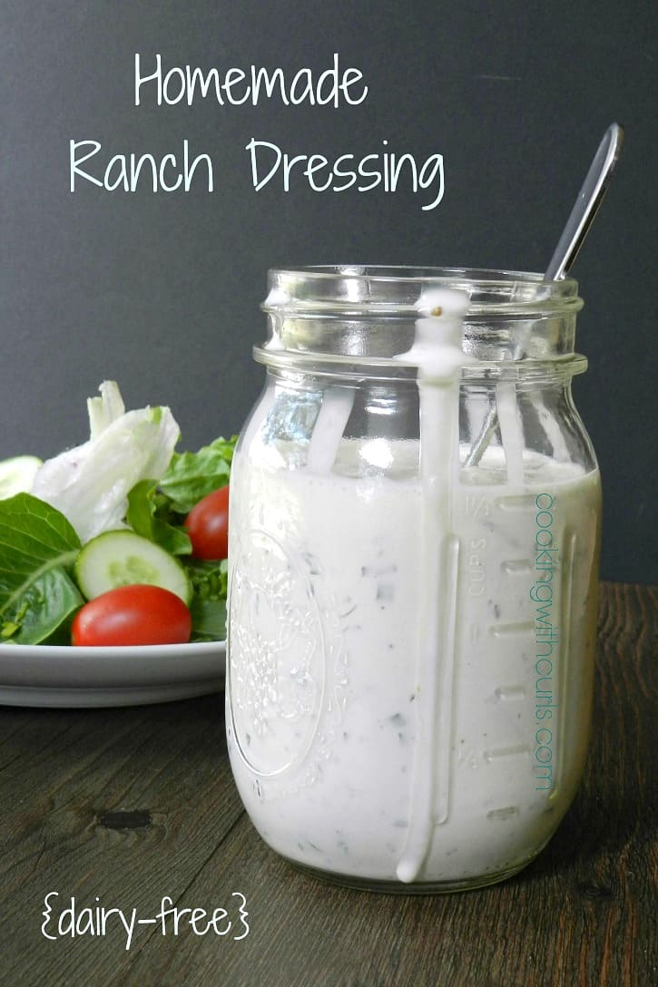 Ranch dressing has always been my absolute favorite, and this Homemade Ranch Dressing recipe is absolutely perfect! cookingwithcurls.com