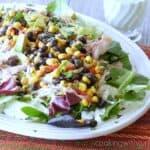 Southwest Chicken Salad Spring & organization