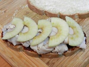 Turkey Apple Panini Apples cookingwithcurls.com