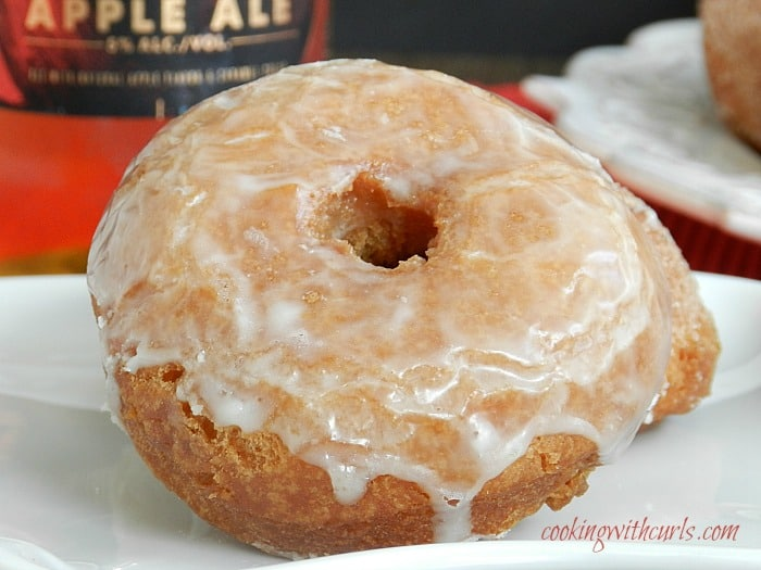Apple Ale Doughnuts by cookingwithcurls.com