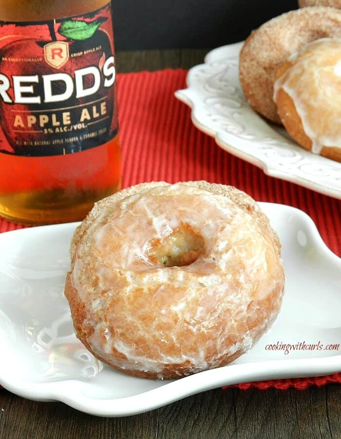 Apple Ale Doughnuts cookingwithcurls.com