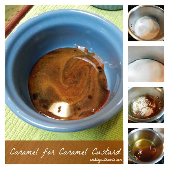 Caramel Custard Collage cookingwithcurls.com