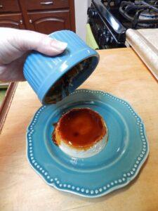 Caramel Custard remove cookingwithcurls.com