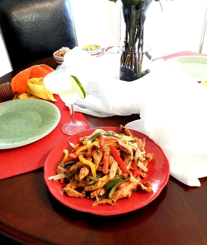 Chicken Fajitas Cooking with Astrology cookingwithcurls.com
