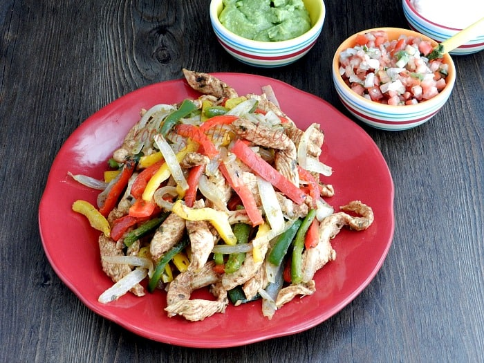 Chicken Fajitas cookingwithcurls.com