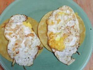 Huevos Rancheros soft eggs cookingwithcurls.com