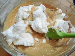 Pumpkin Waffles fold cookingwithcurls.com