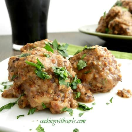 Spanish Meatballs in Almond Sauce & food of the world