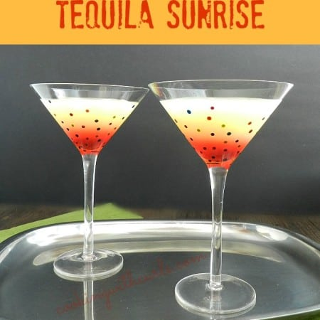 Tequila Sunrise cookingwithcurls.com