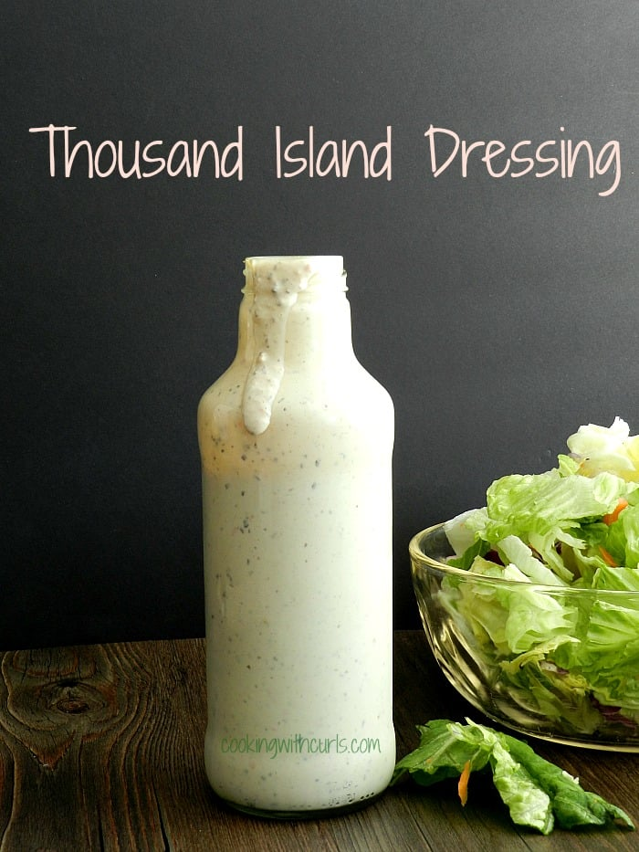 Thousand Island Dressing by cookingwithcurls.com