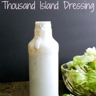 Thousand Island Dressing is light, and tangy, with complex flavors that blend perfectly together! cookingwithcurls.com