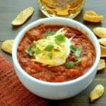 Jack Daniels Chili & chilly weather