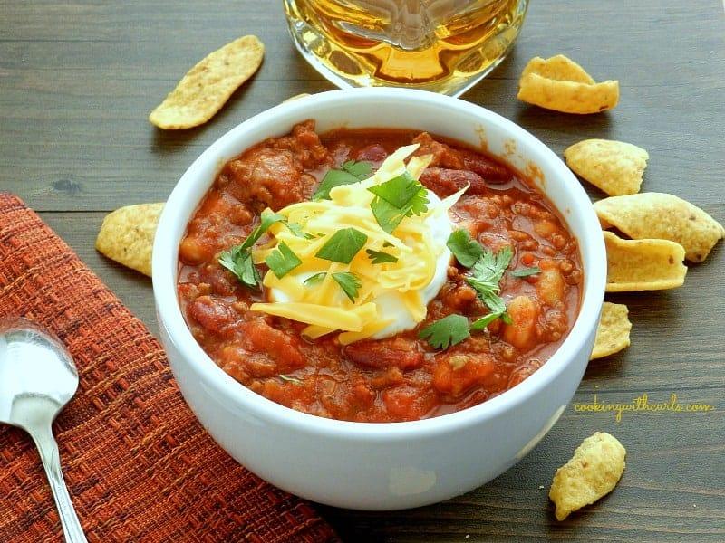 Jack Daniels Chili cookingwithcurls.com