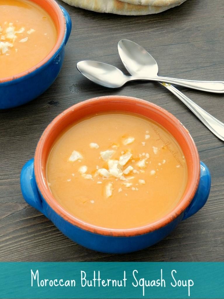moroccan butternut squash soup cookingwithcurls.com