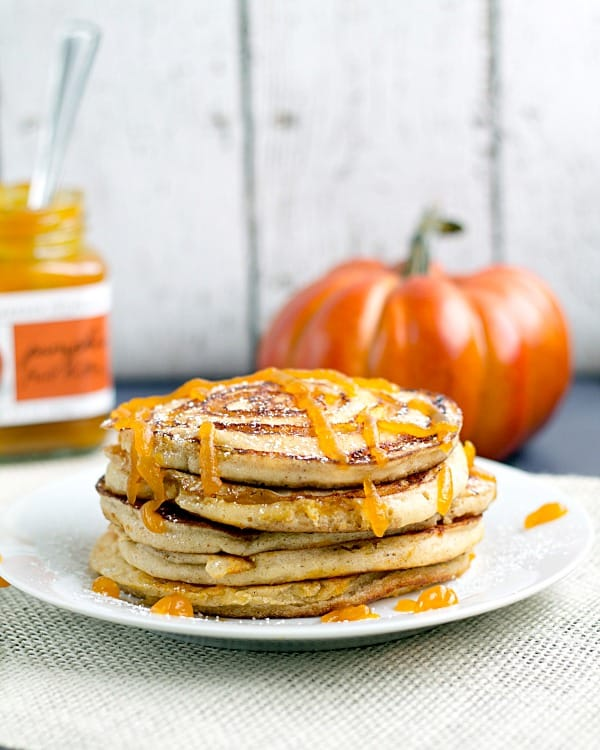 Pumpkin-Swirl-Pancakes-with-Pumpkin-Butter-Topping