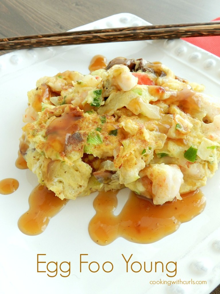 Egg Foo Young by cookingwithcurls.com