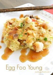 Egg Foo Young is a lot like a Chinese fritatta, and makes an excellent breakfast! cookingwithcurls.com