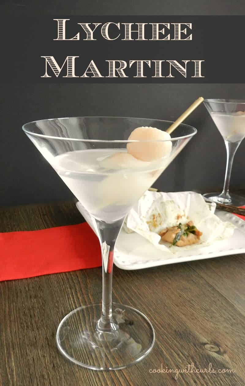Lychee Martini cookingwithcurls.com