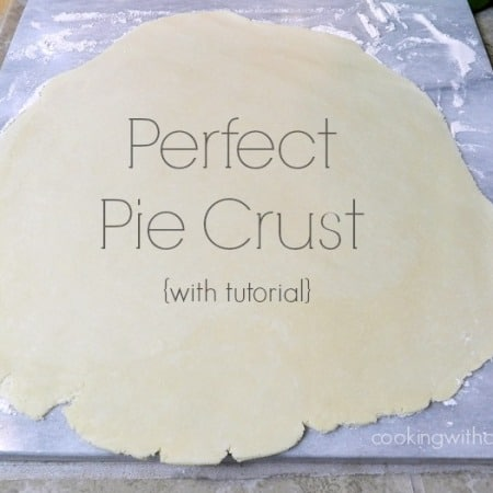 Perfect Pie Crust {with tutorial} | cookingwithcurls.com