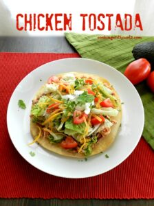 Chicken Tostadas cookingwithcurls.com