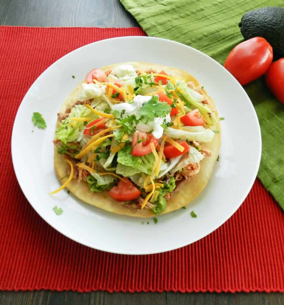 Chicken Tostadas & holidays - Cooking With Curls