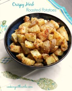 Crispy Herb Roasted Potatoes