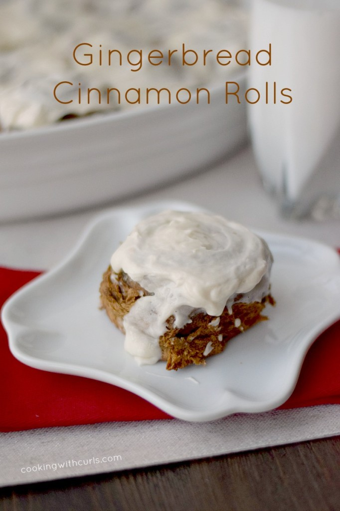 Gingerbread Cinnamon Rolls Cooking with Astrology Capricorn cookingwithcurls.com
