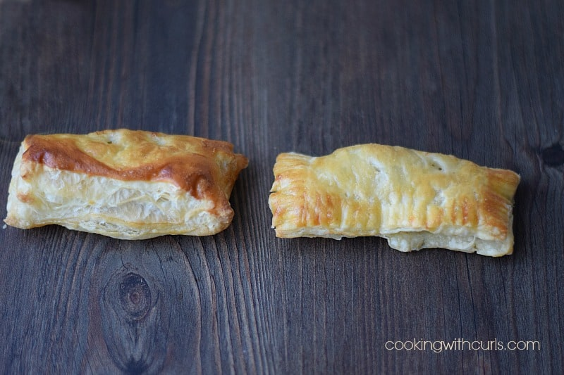 Sausage Rolls baked cookingwithcurls.com