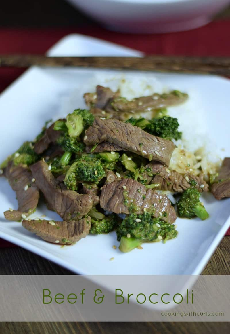 Beef and Broccoli by cookingwithcurls.com
