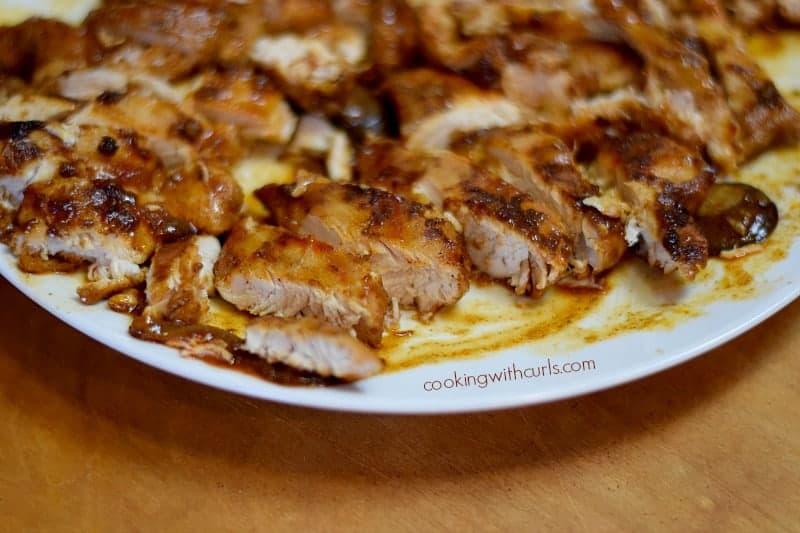 Chicken Paprikash sliced cookingwithcurls.com