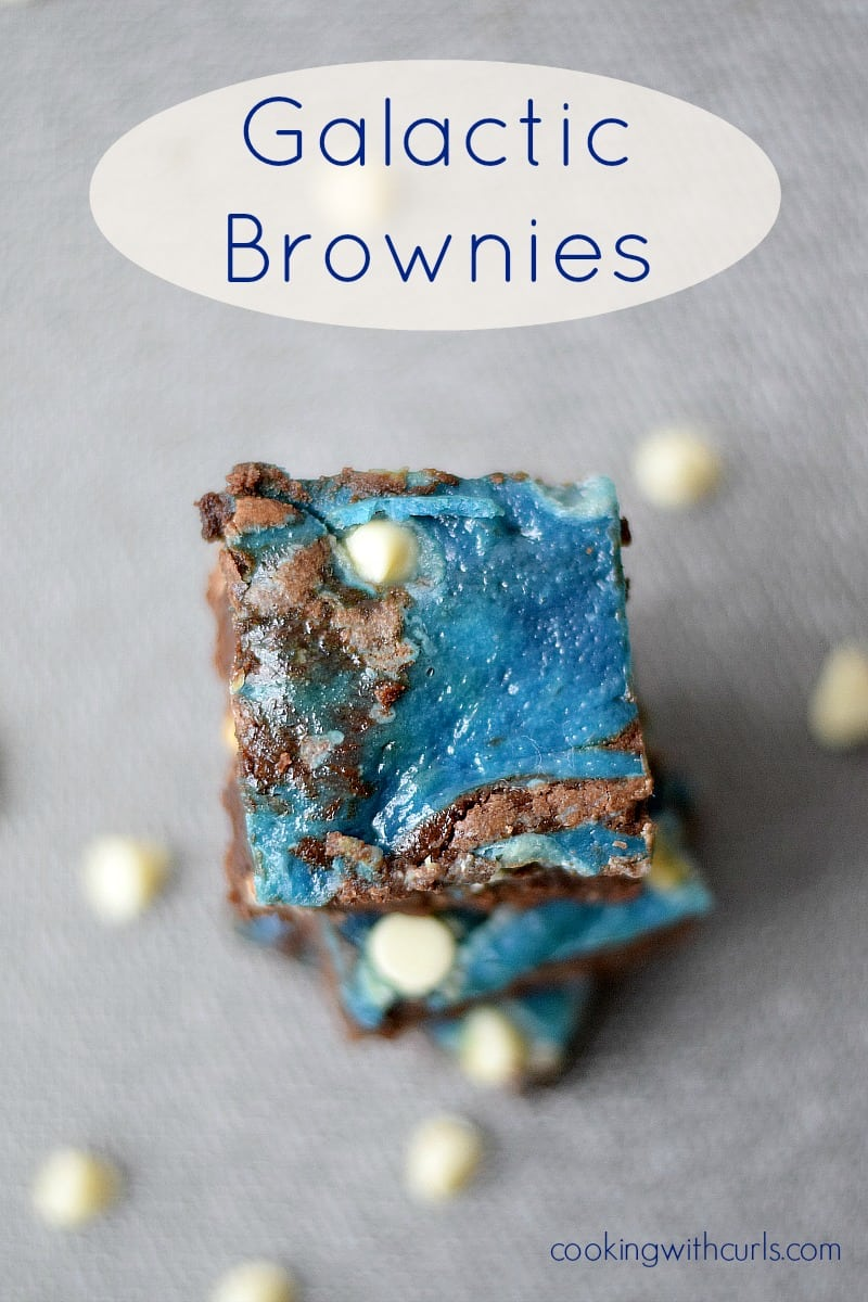 Galactic Brownies cookingwithcurls.com
