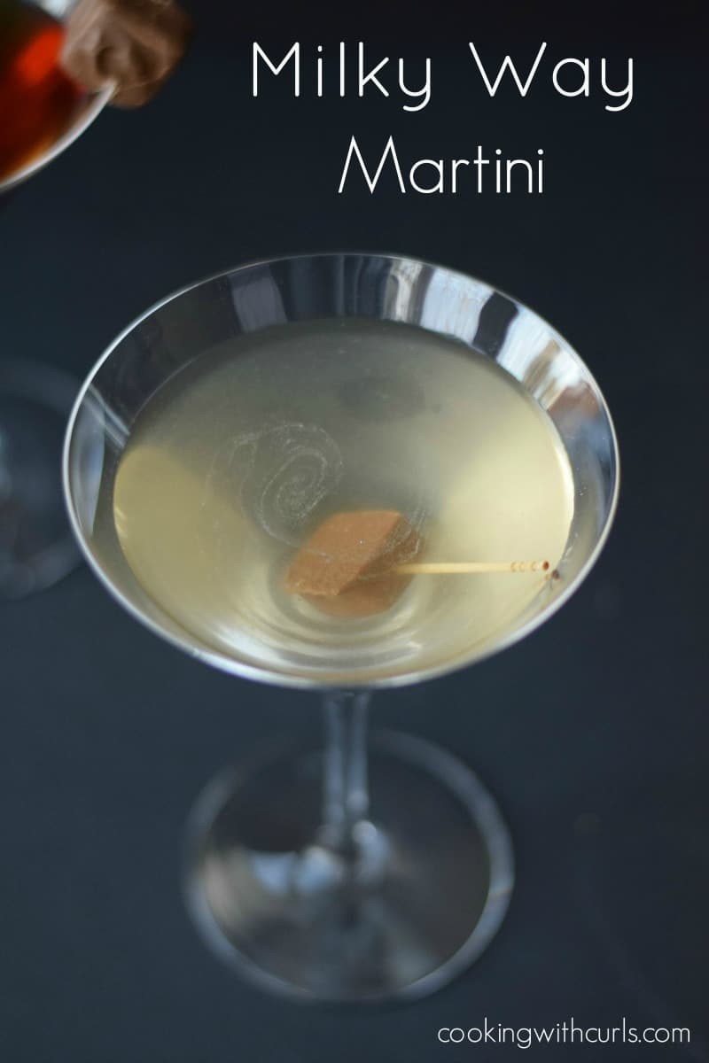 Milky Way Martini by cookingwithcurls.com Cooking with Astrology Aqurius