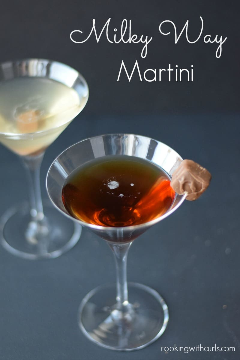 Milky Way Martini cookingwithcurls.com Cooking with Astrology Aquarius