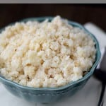Paleo Cauliflower Rice & comfort zone