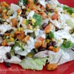 Southwest Chicken Salad Fall & happy new year