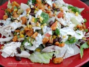 Southwest Chicken Salad Fall
