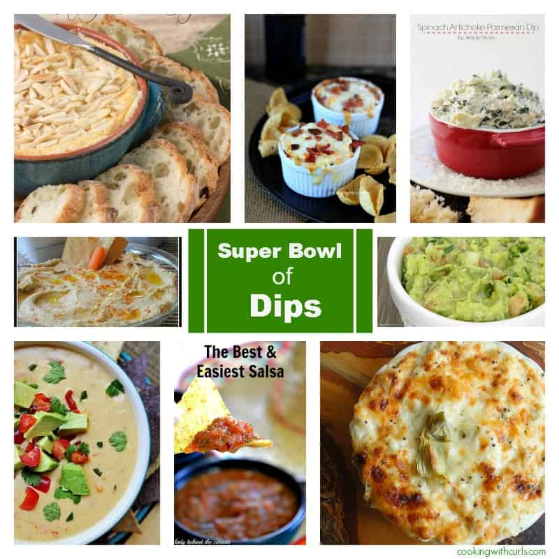 Super Bowl of Dips Collage cookingwithcurls.com
