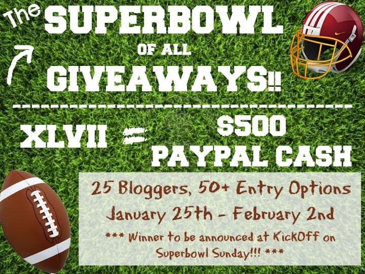 Superbowl Giveaway cookingwithcurls.com